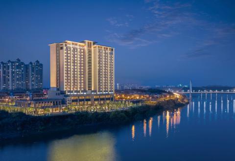 Hyatt Regency Zhuzhou Exterior (Photo: Business Wire)
