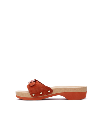 Dr. Scholl's x Kate Spade New York Originally Sandal in Suede (Photo: Business Wire)