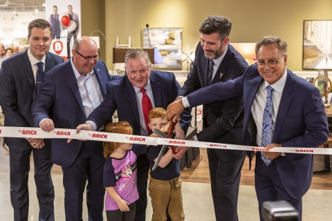 The Brick Officially Opened New Interactive Flagship Store in West Edmonton Mall  (Photo: Business Wire)