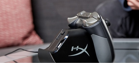 HyperX ChargePlay Duo Controller Charging Station for Xbox One (Photo: Business Wire)
