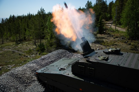The CV90 Mjölner becomes the 16th variant in the family of combat proven CV90 vehicles. (Photo: BAE Systems)