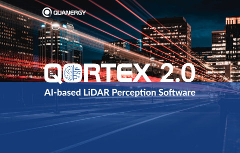 QORTEX(TM)2.0 AI-Based LiDAR Perception Software (Graphic: Business Wire)