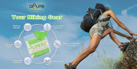 Pure5.5 designed with 6 key features that really improve your hiking experience, and will make you surprised and satisfied. (Photo: Business Wire)