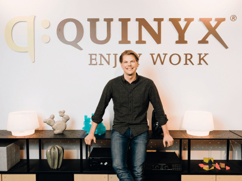 Erik Fjellborg, Quinyx CEO and Founder (Photo: Business Wire)