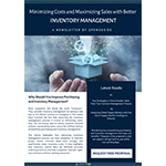 Minimizing Costs and Maximizing Sales with Better Inventory Management.