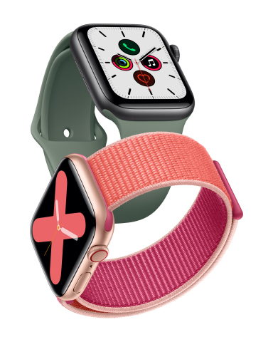 Apple unveils the new Apple Watch Series 5. (Photo: Business Wire)
