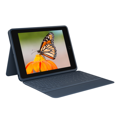 Introducing Logitech® Rugged Combo 3, keyboard case for K-12 Classrooms with drop protection for new seventh-generation iPad® (Photo: Business Wire)