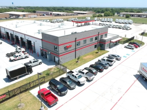 The new 28,000-square-foot facility, located at 1325 Triad Blvd., will employ up to 60 employees to better serve the nearly 100 Ryder customers in the area. (Photo: Business Wire)