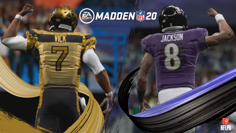 Michael Vick and Lamar Jackson highlight an historic NFL Kickoff for EA SPORTS Madden NFL (Photo: Business Wire)
