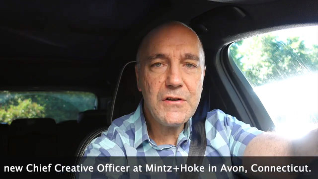 Meet Mintz + Hoke's new Chief Creative Officer--join him on his commute to work, discussing fundamentals, technology and all things creative.