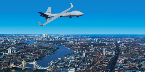 """""""The testing and evaluation phase of the Protector programme is an important element that ensures the safe delivery of this next generation capability."""" - RAF Group Captain Lyndon Jones, Protector RG Mk1 Programme Director. (Photo: Business Wire)"""