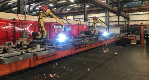Hannibal's robotic welding machine (Photo: Business Wire)