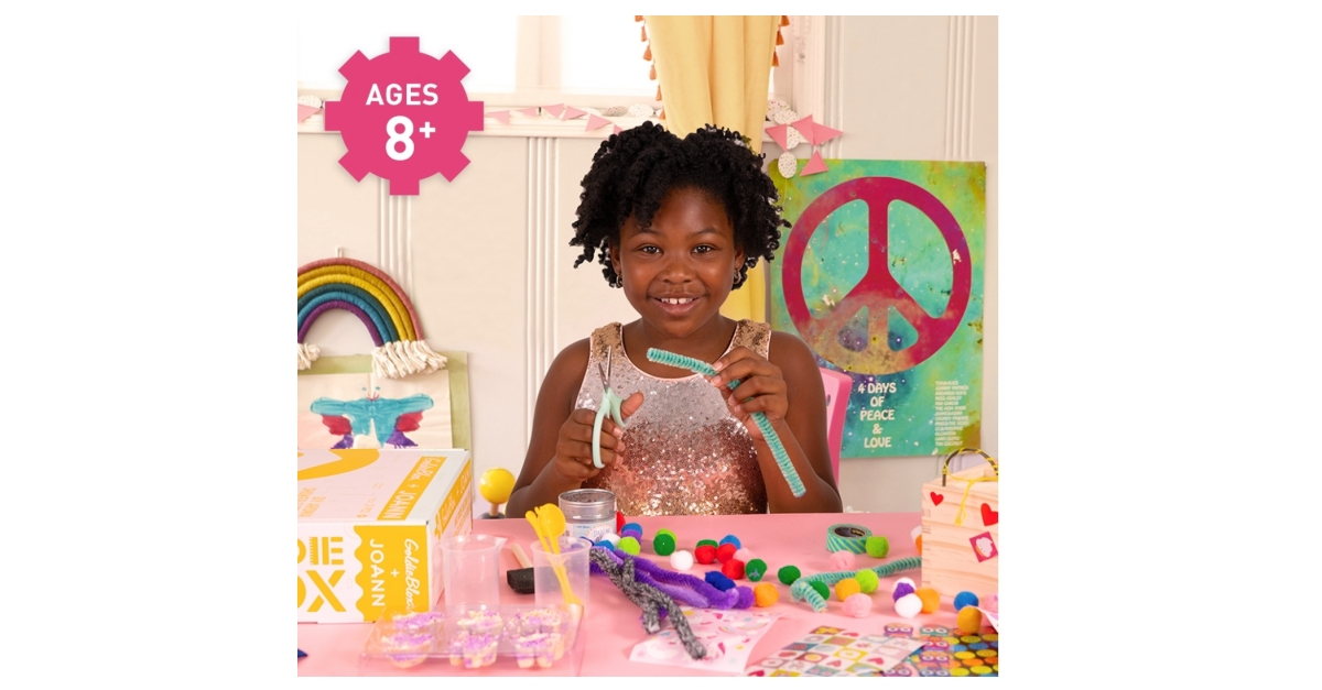 JOANN Partners With GoldieBlox to Deliver STEM-Inspired Kids