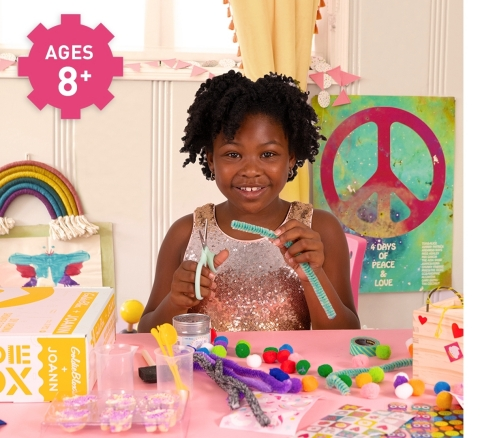 The GoldieBlox Box provides limitless fun for children ages 8 and up. (Photo: Business Wire)