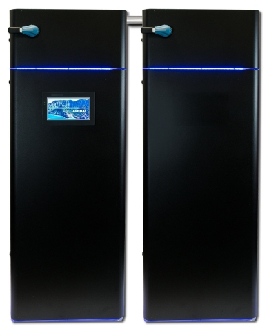 Hawai'i-based Blue Planet Energy introduces Blue Ion LX for commercial and industrial (C&I) energy storage applications. A modular 64 kWh dual-cabinet energy storage block scales to system capacities of 2 MWh+ for ease of integration in large projects, such as those in remote locations or areas with an unreliable grid that demand the most robust and high-quality systems. (Photo: Business Wire)
