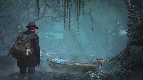 The Sinking City is an adventure and investigation game set in an open world inspired by the universe of H.P. Lovecraft, the master of Horror. (Graphic: Business Wire)