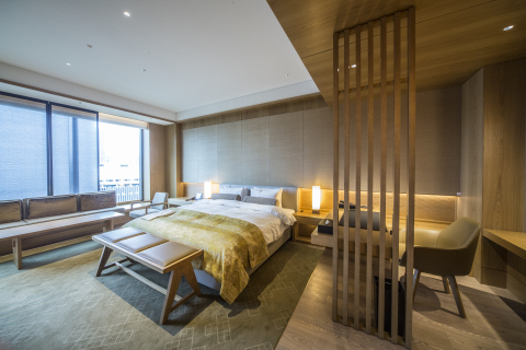 Guest room of The Okura Heritage Wing  (Photo: Business Wire)