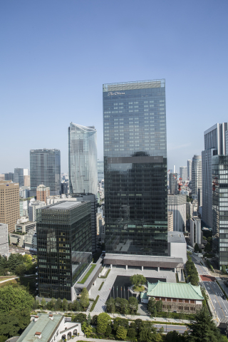 Exterior of The Okura Tokyo (Photo: Business Wire)