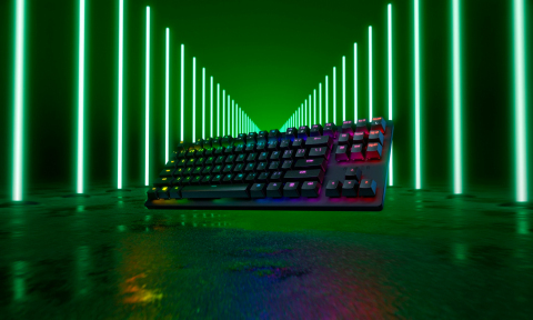 The Huntsman Tournament Edition (TE) compact gaming keyboard is the latest addition to Razer's lineup of high-performance gaming keyboards. (Photo: Business Wire)