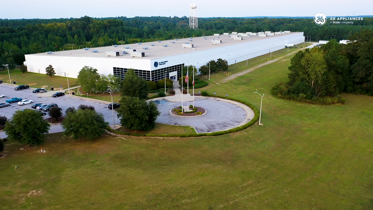 GE Appliances Invests $60 Million to Begin Water Heater Manufacturing in Camden, SC.