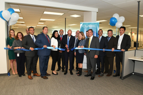 Cubic celebrates the opening of its Western New York operations center with ribbon cutting ceremony. (Photo: Business Wire)