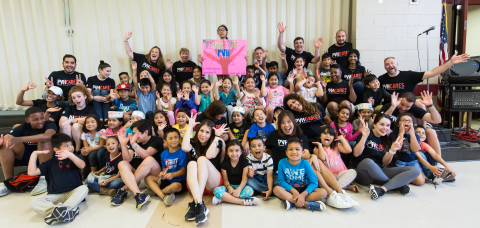 PVH Corp. associates volunteered with Save the Children's Summer Boost Program (Photo: Business Wire)