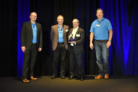 Advanced Energy Industries receives Lam Research's 2019 Supplier Excellence Award for outstanding service, superior performance, and commitment to quality (Photo: Business Wire)