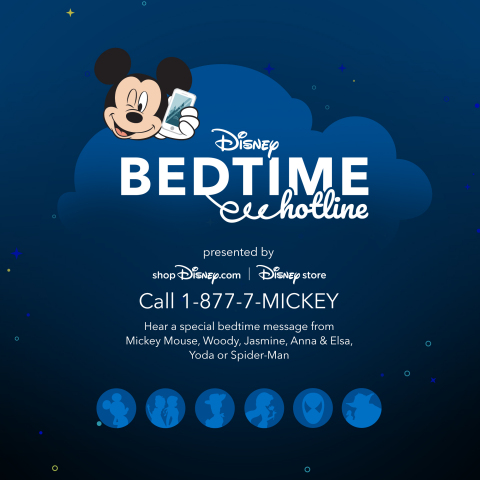 Disney Bedtime Hotline (Graphic: Business Wire)