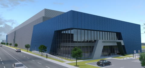 Aligned Energy data center campus in Ashburn, Virginia (Graphic: Business Wire)