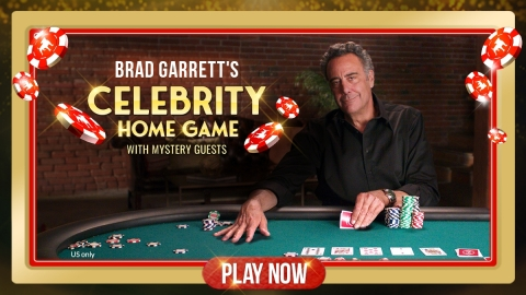 Zynga Poker Partners with Actor, Comedian and Card Shark Brad Garrett for 'Celebrity Home Game' Sweepstakes Event, Benefiting Maximum Hope Foundation (Photo: Business Wire)