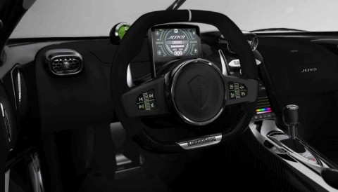 Qt supports software development of Koenigsegg's SmartCenter, SmartWheel and SmartCluster products. (Photo: Business Wire)