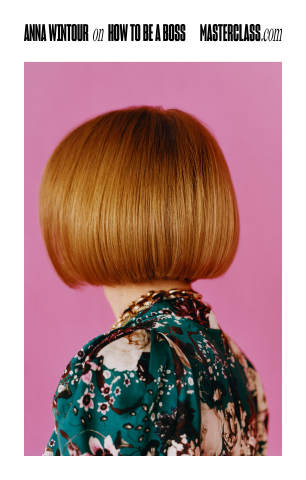"""MasterClass Unveils First Brand Campaign: """"How to Be a Boss"""" Featuring Anna Wintour (Graphic: Business Wire)"""