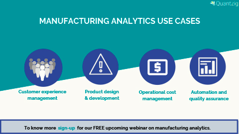 4 Key Analytics Use Cases in the Manufacturing Industry