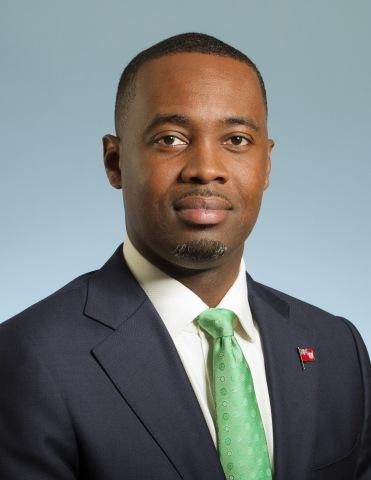 The Hon. E David Burt, MP, JP, Premier of Bermuda (Photo: Business Wire)