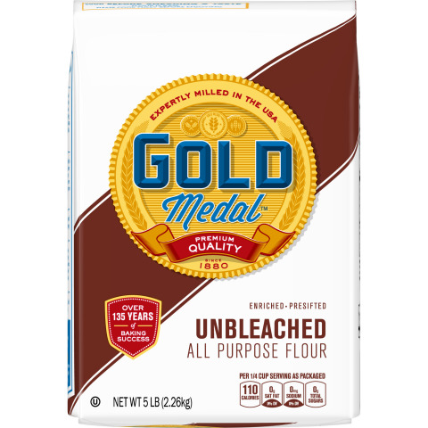 Gold Medal Unbleached All Purpose Flour (Photo: General Mills)