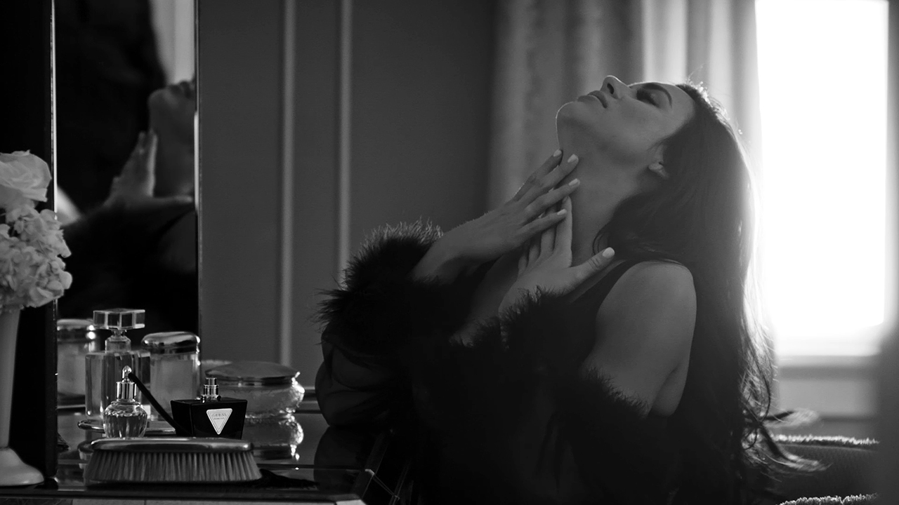 Introducing the GUESS Seductive Noir Fragrance Advertising Campaign