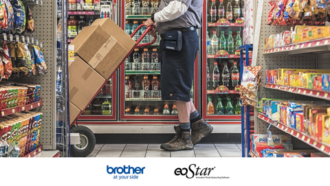 The eoStar and Brother solution helps improve customer experience and promotes loyalty by giving drivers a reliable and efficient approach to product delivery. (Photo: Business Wire)
