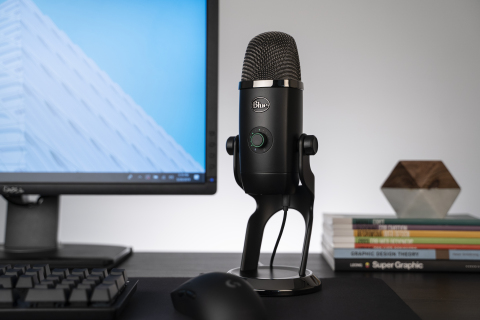 Yeti X features new Blue VO!CE technology, which enables content creators to dial up professional vocal effects and custom presets at the push of a button. (Photo: Business Wire)