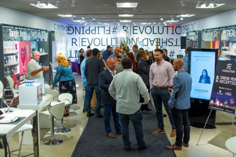 R|Evolution – an innovative rotating pop-up model created by CS Hudson and IRG – officially launched Sept. 12 in Riverhead, NY. (Photo: Business Wire)
