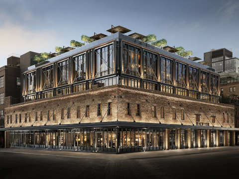 RH NEW YORK, THE GALLERY IN THE HISTORIC MEATPACKING DISTRICT (Photo: Business Wire)