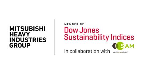 DJSI member logo (MHI_2019) (Graphic: Business Wire)