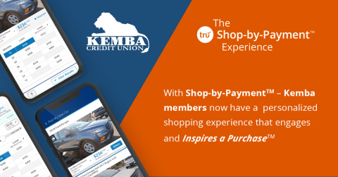 Kemba members can now experience an online shopping experience that not only engages the consumer, but Inspires a Purchase. (Photo: Business Wire)