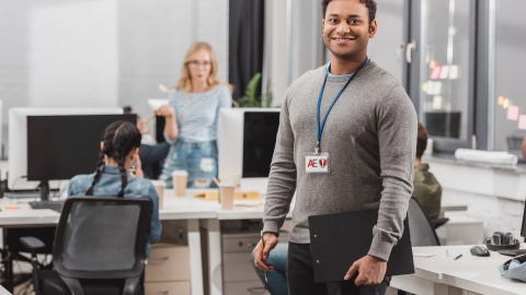From hire to retire the Enterprise Guardian integration with SAP SuccessFactors delivers frictionless secure access to company workspaces. (Photo: Business Wire)