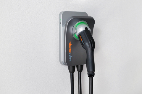 ChargePoint® Home Flex charges any EV at the right speed in any home, now and into the future; allows drivers to conveniently manage all charging with the ChargePoint app (Photo: Business Wire)