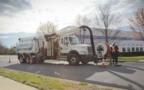 Charlotte Water is running a renewable diesel pilot project, operating 34 diesel vehicles on 100 percent renewable fuel. (Photo: Business Wire)