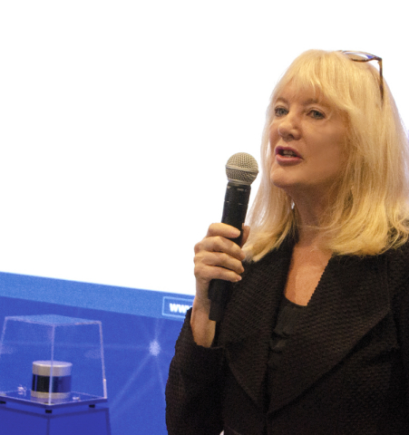 Marta Hall, President and Chief Business Development Officer of Velodyne Lidar, Inc., will address why lidar is necessary for safe vehicle automation at the IAA 2019 Conference. (Photo: Velodyne Lidar)
