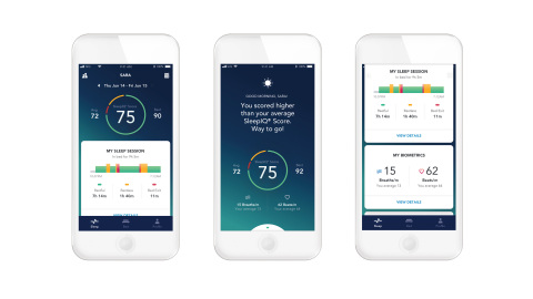 SleepIQ® technology now delivers personalized, daily insights fueled by individual biometrics to empower health and well-being. (Photo: Sleep Number)