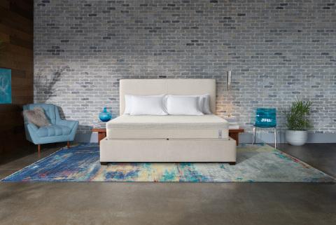 The Sleep Number 360® p6 smart bed. (Photo: Sleep Number)