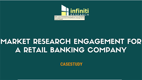 Market research engagement for a retail banking company