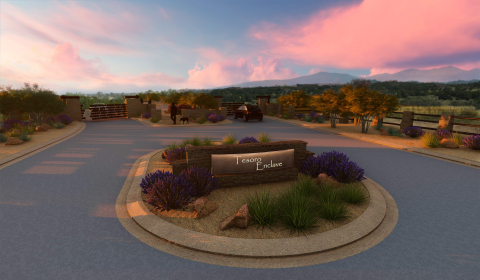 RECORD BREAKING Weekend With Estate Homesites Released in Tesoro Enclave at Las Campanas (Photo: Business Wire)